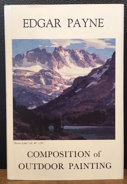 Composition of Outdoor Painting. Edgar Alwin Payne.