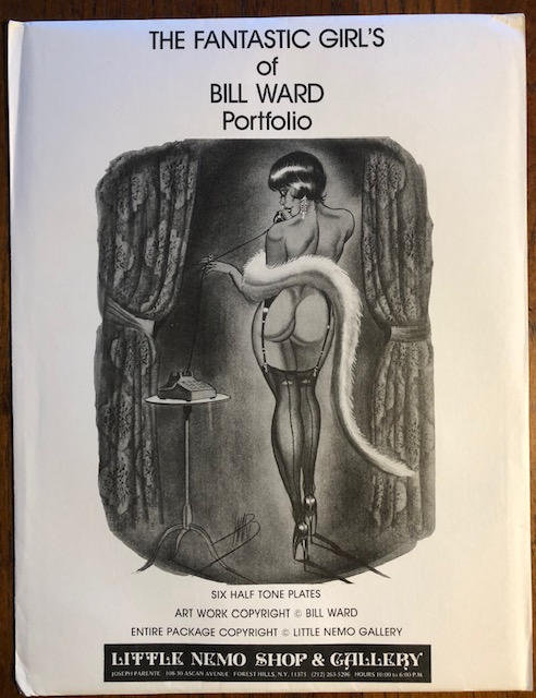 THE FANTSTIC GIRL'S OF BILL WARD PORTFOLIO. Bill Ward.