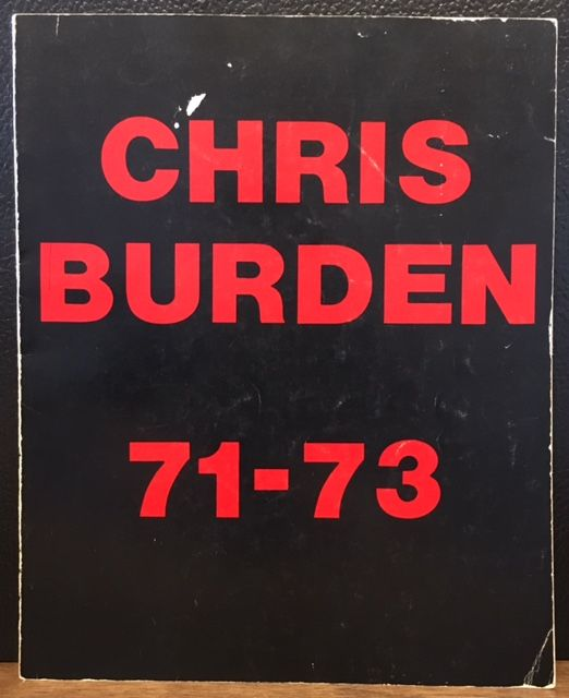 CHRIS BURDEN 71-73