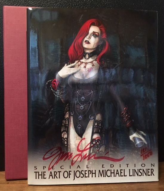 THE ART OF JOSEPH MICHAEL LINSNER. Michael Linsner, JML Hopkins, Eva.