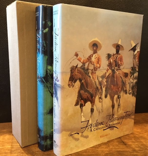 Frederic Remington: A Catalogue Raisonné (2 Volume Set). Peter H. Hassrick, Melissa J. Webster.