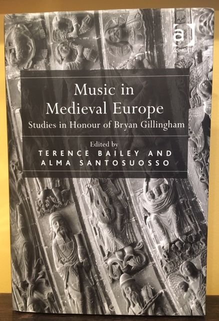 MUSIC IN MEDIEVAL EUROPE. Terence Bailey, Alma Santosuosso.