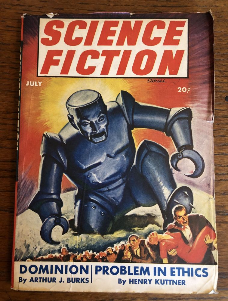 SCIENCE FICTION Stories. July, 1943