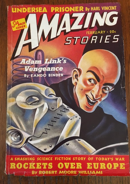 AMAZING STORIES. February, 1940. (Volume 14, No. 2) B.G. Davis, editor