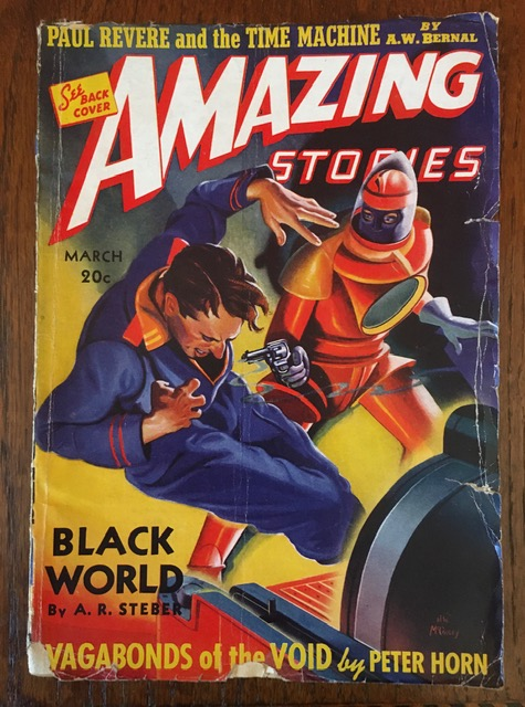 AMAZING STORIES. March, 1940. (Volume 14, No. 3) B.G. Davis, editor