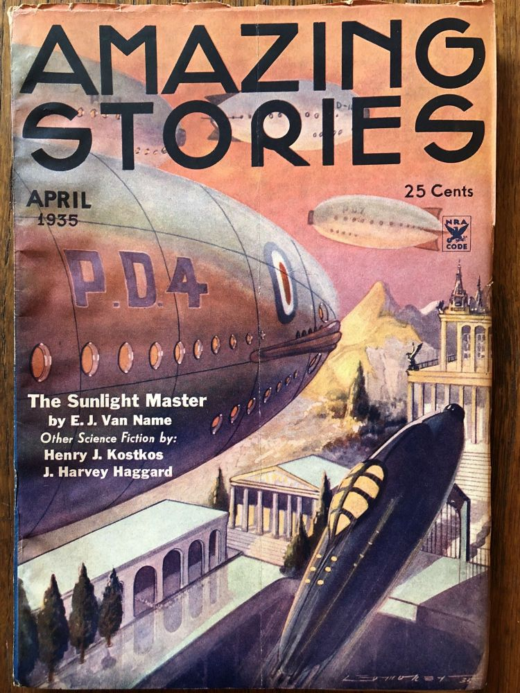 AMAZING STORIES. April, 1935.