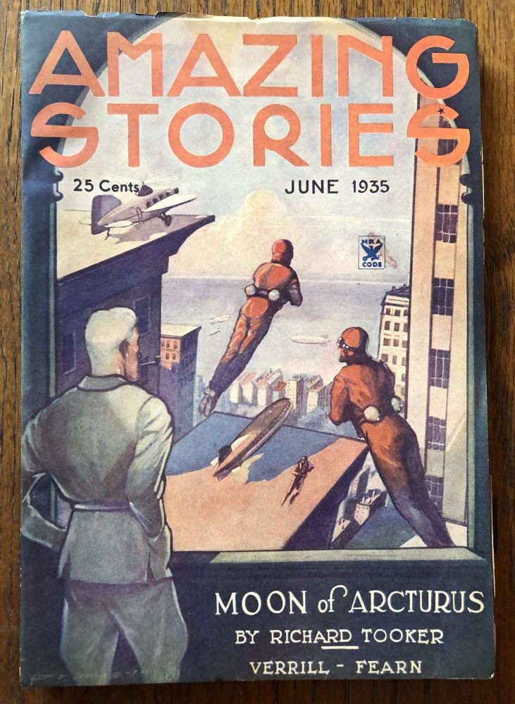 AMAZING STORIES. June, 1935. (Volume 10, No. 3) T. O'Connor Sloane, Phd. (Editor)