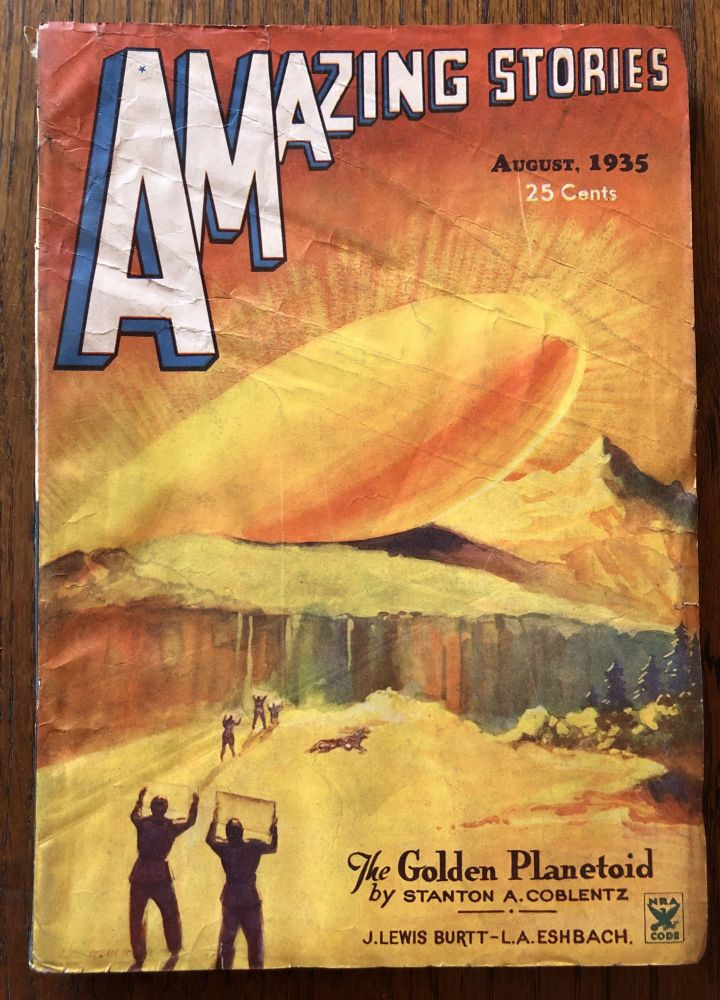 AMAZING STORIES. August, 1935. (Volume 10, No. 5) T. O'Connor Sloane, Phd. (Editor)