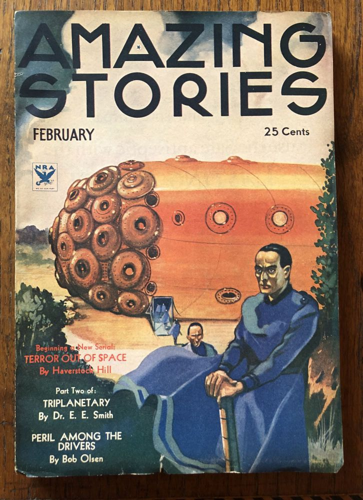 AMAZING STORIES. February, 1934. (Volume 8, No. 10) T. O'Connor Sloane, Phd. (Editor)