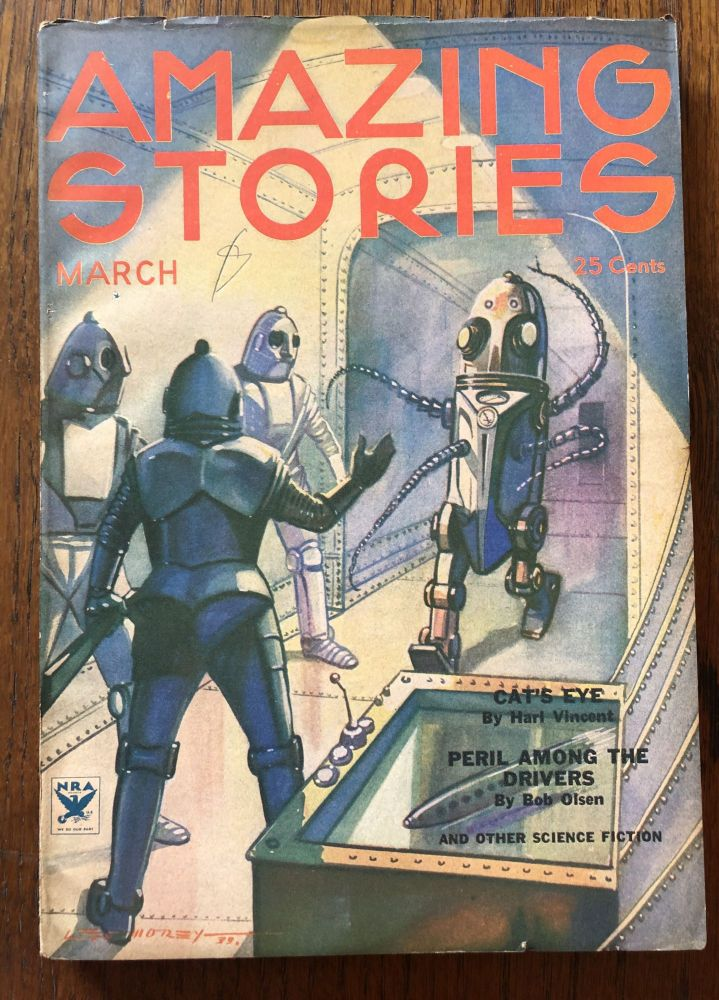 AMAZING STORIES. March, 1934.