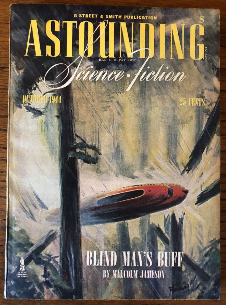 ASTOUNDING SCIENCE FICTION. October, 1944. Campbell, Jr., John W. (Editor)