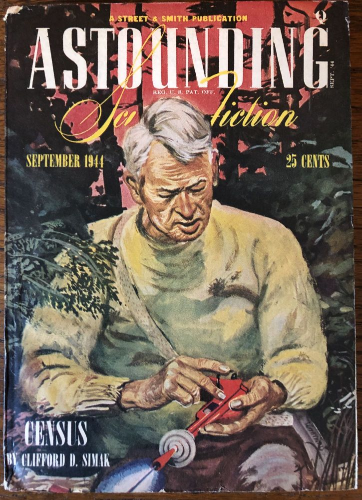 ASTOUNDING SCIENCE FICTION. September, 1944. Campbell, Jr., John W. (Editor)