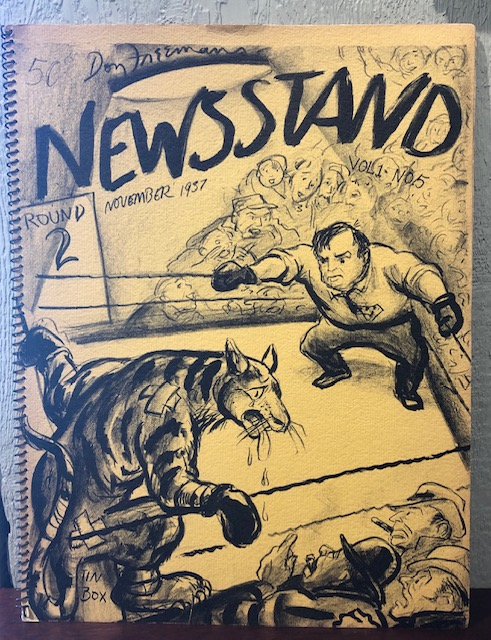 THE NEWSSTAND. A bi-monthly magazine of drawings in lithographs published by Don Freeman. (First Series). Don Freeman.