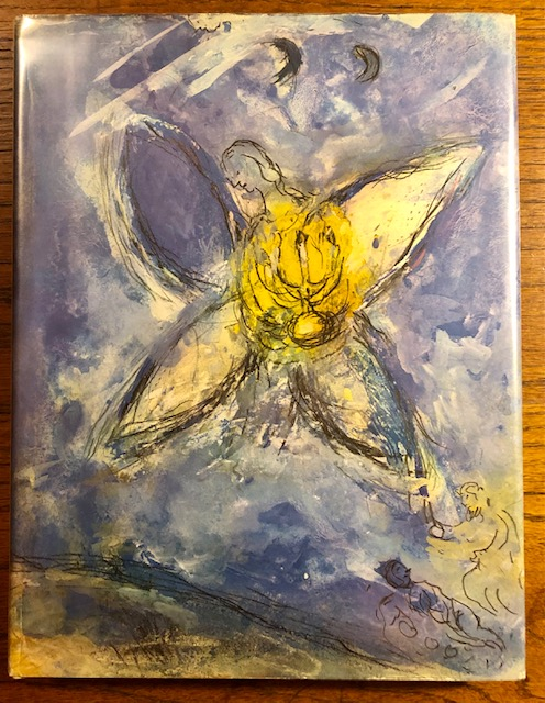 THE BIBLICAL MESSAGE MARC CHAGALL. Marc Chagall, Jean Chatelain, preface.