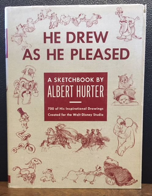 HE DREW AS HE PLEASED. Albert Hurter, Disney.