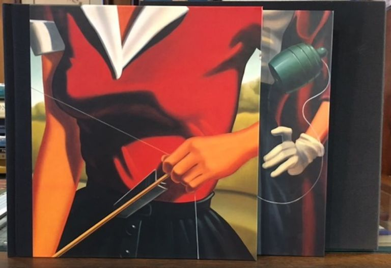 RHYME AND REASON; PROSE AND CONS: Paintings by R. Kenton Nelson. (2 Volumes). R. Kenton Nelson, Helen Tye Talkin.