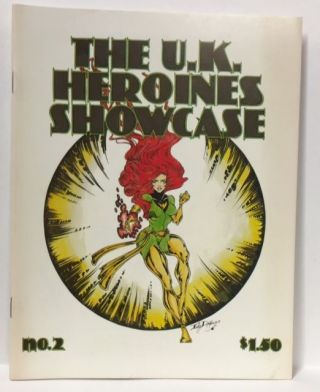 THE BRITISH HEROINES SHOWCASE No. 2