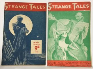 STRANGE TALES. First selection #1; Second Selection #1