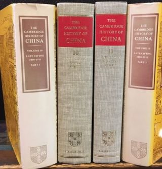 LATE CH'ING, 1800-1911. PART 1 & 2. Denis Twitchett, John K. Fairbanks, Kwang-Ching Lui.
