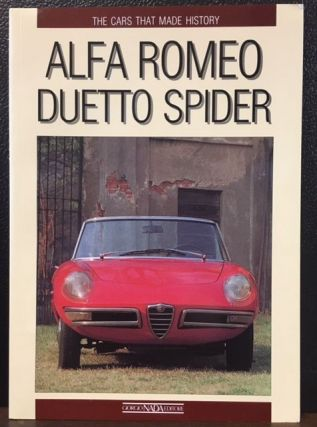 ALFA ROMEO DUETTO SPIDER. Giancenzo Madaro.