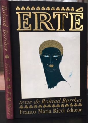 ERTE. Roland Barthes.