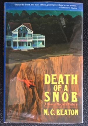 DEATH OF A SNOB. M. C. Beaton