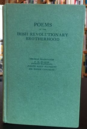 POEMS OF THE IRISH REVOLUTIONARY BROTHERHOOD. Thomas MacDonagh