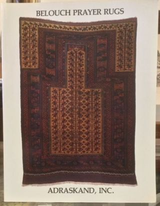 BELOUCH PRAYER RUGS. Michael Craycraft