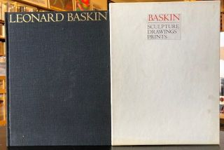 BASKIN SCULTURE DRAWINGS & PRINTS. Baskin.