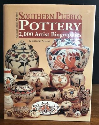 SOUTHERN PUEBLO POTTERY. 2000 Artist Biographies. Gregory Schaaf