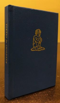 Poetry for Children: Facsimile Reprint of an Obscure American Juvenile Based on the Work of the...