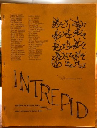 INTREPID # 11/12 Fifth Anniversary Issue. Allen De Loach