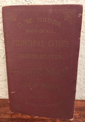 C. W. HOBBS, MAPS OF ALL PRINCIPAL CITIES IN THE UNITED STATES. C. W. Hobbs.
