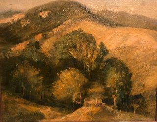 GAVIOTA (Pass) Original Oil Painting. DeWitt Parshall