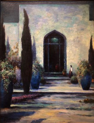SAMARKAND (Original Oil Painting). Alexis Matthew Podchernikoff