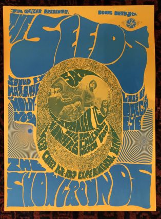 Rock Poster) THE SEEDS. Jim Salzer. 1967