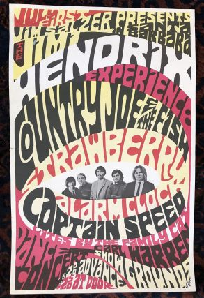 Rock Poster) THE JIMI HENDRIX EXPERIENCE