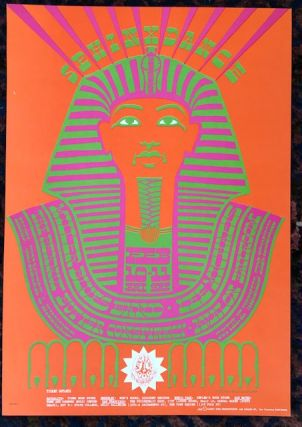 Rock Poster) SPHINX DANCE. 1967. Family Dog Presents. Victor Moscoso