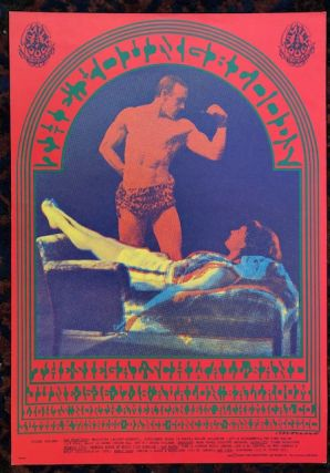Rock Poster) THE YOUNG BLOODS. 1967. Family Dog Presents. Victor Moscoso