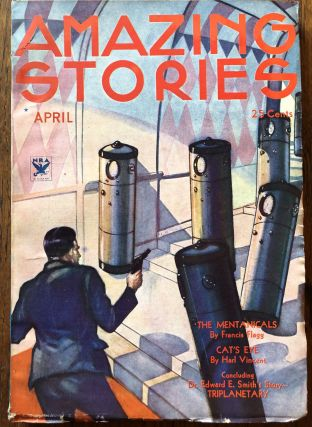 AMAZING STORIES. April, 1934