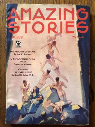 AMAZING STORIES. August, 1934
