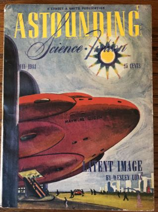 ASTOUNDING SCIENCE FICTION. May, 1944. Campbell, Jr., John W. (Editor