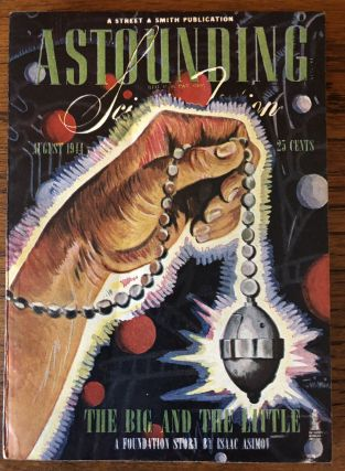 ASTOUNDING SCIENCE FICTION. August, 1944. Campbell, Jr., John W. (Editor
