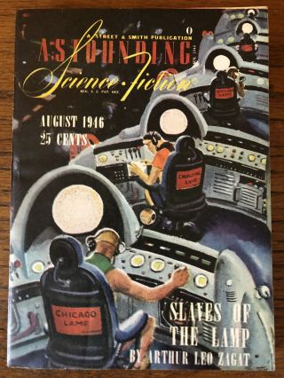 ASTOUNDING SCIENCE FICTION. August, 1946. Campbell, Jr., John W. (Editor