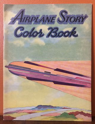 AIRPLANE STORY COLOR BOOK