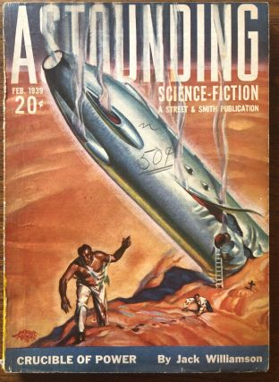 ASTOUNDING SCIENCE FICTION. February, 1939. Campbell, Jr., John W. (Editor