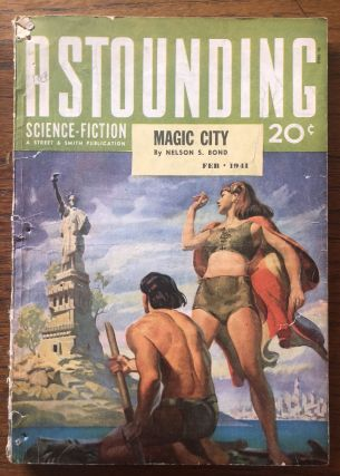 ASTOUNDING SCIENCE FICTION. February, 1941. Campbell, Jr., John W. (Editor