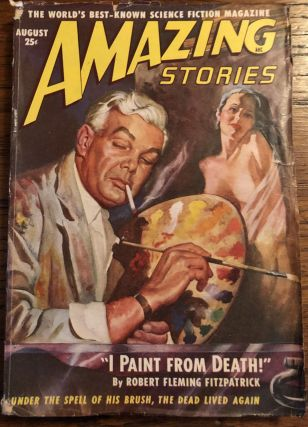 AMAZING STORIES. August, 1949