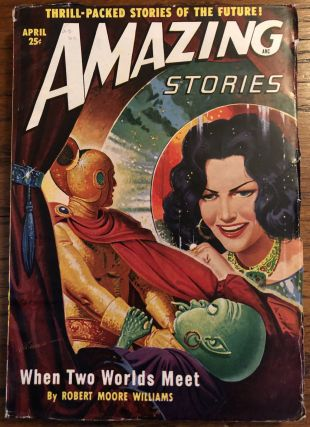 AMAZING STORIES. April, 1950