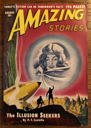 AMAZING STORIES. August, 1950